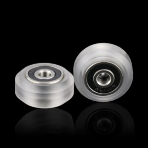 10X High precision CNC clear PC Polycarbonate Xtreme v Mini wheel for Openbuilds v-slot linear rail system
