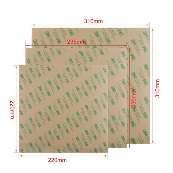 3D Printer Parts Cold PEI Frosted Build Surface Polyetherimide Cold PEI Sheet 0.3mm Thickness For Ender 5 CR10 Ender 3