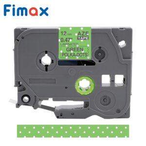 Fimax tze231 Tze-231 tz tape Multicolor Pattern 12mm Compatible for Brother p-touch printer Tz-231 TZ231 for Brother label Maker