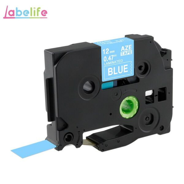 Labelife TZe231 31 Colors label tape Compatible Brother P-Touch label printer PT-D200 PT-D210 12mm Laminated Tape