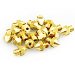 Creality 5PCS 0.2/0.3/0.4/0.5/0.6/0.8MM Optional Hotend Extruder Nozzle For Creality Ender-3/Ender-3 PRO/Ender-5/ CR-10/10S