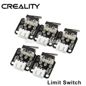 X/Y Axis Limit Switch 3Pin N/O N/C control easy to use Micro Switch For CREALITY 3D Printer Accessories