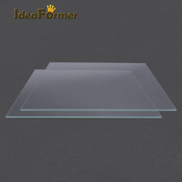 Reprap MK2 Heated Bed Borosilicate Glass Plate tempered 1 pcs 3D Printer parts glass in good quality