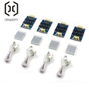 4X piece TL-smoother PLUS Plug-In Module for 3D Pinter Motor Driver + Heat Sink Sheet Motor Driver Terminator Reprap MK8