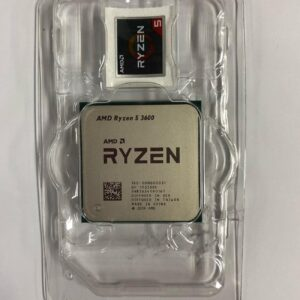 AMD Ryzen 5 3600, 3.6 GHz Six-core 12-Wire Processor Unit Processor 7NM 65W L3 = 32 M, Socket AM4