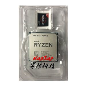 AMD Ryzen 9 3900X R9 3900X 3.8 GHz Twelve-Core 24-Thread CPU Processor 7NM L3=64M 100-000000023 Socket AM4 New but no fan