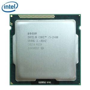 Intel Core i5-2400 i5 2400 3.1GHz Quad-Core CPU Processor 6M 95W LGA 1155 tested 100% working