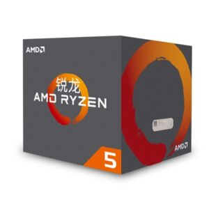AMD Ryzen 5 1400 R5 1400 3.2 GHz Quad-Core Eight-Thread CPU Processor L2=2M L3=8M 65W YD1400BBM4KAE Socket AM4 New and with fan