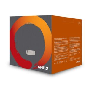 AMD Ryzen 5 2600 R5 2600 GHz Six-Core Twelve-Thread CPU Processor L2=3M L3=16M 65W Socket AM4 New with cooling fan
