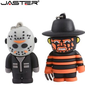 JASTER cool cartoon usb2.0 Freddy vs. Jason model pendrive 8GB 16GB 32GB usb flash drive pen drive Cute U disk