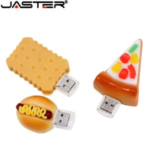 JASTER Pen drive, 4GB 8GB 16GB 32GB 64GB usb French ,Pizza,Sushi,Shape USB Flash USB2.0 Flash Drive pendrive thumb
