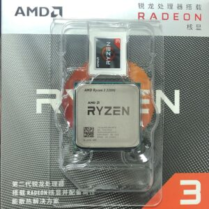 AMD Ryzen 3 3200G R3 3200G 3.6 GHz Quad-Core Quad-Thread 65W CPU Processor L3=4M YD3200C5M4MFH Socket AM4 New