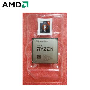 AMD Ryzen 5 3600 R5 3600 3.6GHz Six-Core Twelve-Thread CPU Processor 7NM 65W L3=32M Desktop Socket AM4 NEW