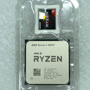 AMD Ryzen 5 3600X R5 3600X 3.8 GHz Six-Core Twelve-Thread CPU Processor 7NM 95W L3=32M 100-000000022 Socket AM4