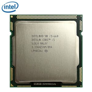 Intel Core i5-660 I5 660 Processor 73W Dual-Core 4M Cache 3.33GHz LGA 1156 Desktop CPU tested 100% working