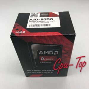AMD A10-Series A10-9700 A10 9700 3.5 GHz Quad-Core CPU Processor AD9700AGM44AB Socket AM4 BOX with FAN
