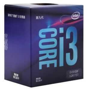 Intel Core i3-9100F i3 9100F 3.6 GHz Quad-Core Quad-Thread CPU 65W 6M ProcessorLGA 1151 Sealed New and come with the cooler