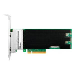 X710-T4 with Intel Chipset XL710BM1  PCIe3.0 x8  Copper 10Gbps RJ45  4 Port Network Adapter
