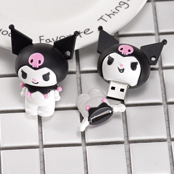 JASTER USB 2.0 Maryland land Kuromi model usb flash drive 4GB 8GB 16GB 32GB 64GB 128GB usb pen drive for a girl's favorite gift