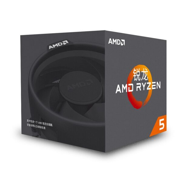 AMD Ryzen 5 1500X  R5 1500X CPU Original Processor  4Core 8Threads Socket AM4 3.5GHz  65W 18MB Cache 14nm  Desktop YD150XBBM4GAE