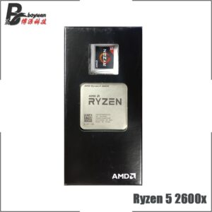 AMD Ryzen 5 2600X R5 2600X 3.6 GHz Six-Core Twelve-Thread CPU Processor L2=3M L3=16M 95W Socket AM4