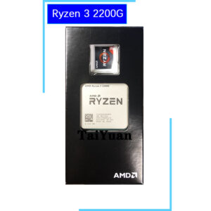 AMD Ryzen 3 2200G R3 2200G 3.5 GHz Quad-Core Quad-Thread CPU Processor YD2200C5M4MFB Socket AM4