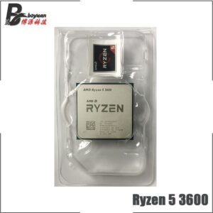 AMD Ryzen 5 3600 R5 3600 3.6 GHz Six-Core Twelve-Thread CPU Processor 7NM 65W L3=32M  100-000000031 Socket AM4 new but no fan
