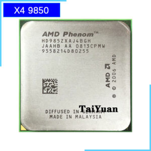 AMD Phenom X4 9850 985Z 2.5 GHz Quad-Core CPU Processor HD985ZXAJ4BGH/HD9850XAJ4BGH Socket AM2+