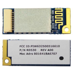 Card for  Dell Latitude D620 D630 Bluetooth Card Truemobile 350 Module W9242 RD530