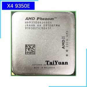 AMD Phenom X4 9350e 9350 2.0 GHz Quad-Core CPU Processor HD9350ODJ4BGH Socket AM2+