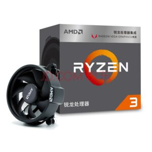 AMD Ryzen 3 2200G R3  CPU Processor with Radeon Vega 8 Graphics 4Core 4Threads Socket AM4 3.5GHz  TDP 65W YD2200C5FBBOX