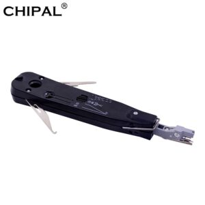 CHIPAL Original Krone Lsa-plus Telecom Phone Wire Cable tester tracker RJ11 RJ45 Punch Down Network Tool Kit patch panel crimper