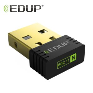 EDUP mini usb wifi wireless adapter 150mbps high quality wifi receiver 802.11n usb ethernet adapter wifi network card for PC