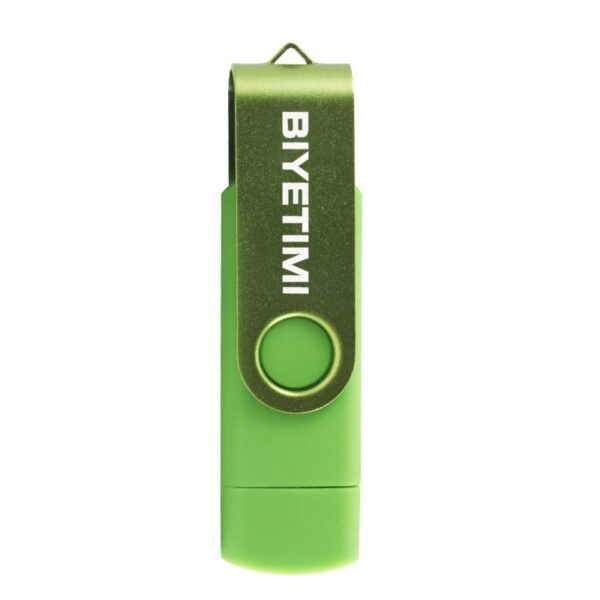 Biyetimi Usb Flash Drive 64gb 32gb Pendrive 2.0 8GB 16GB Pen Drive High Speed Customizable U-disk for Smart Phone