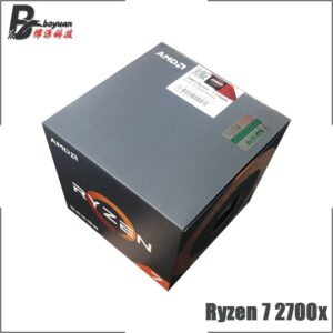AMD Ryzen 7 2700X 3.7 GHz  Socket AM4 Brand New Boxed with fan Eight-Core Sinteen-Thread CPU Processor L3=16M 105W
