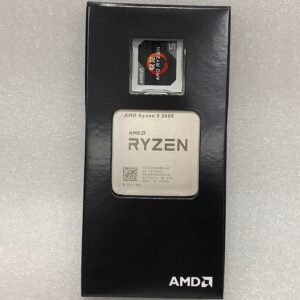 AMD Ryzen 5 2600 R5 2600 3.4 GHz Six-Core Twelve-Core 65W CPU Processor Socket AM4