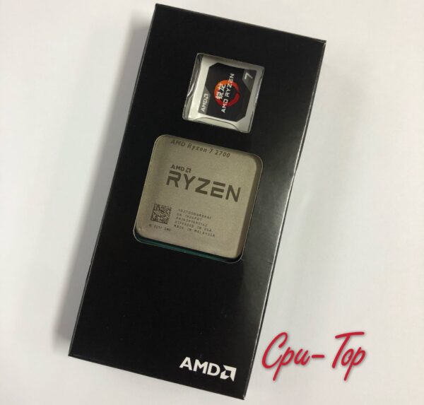 AMD Ryzen 7 2700 , 3.2 GHz Eight-Core Sinteen-Thread 16M 65W CPU Processor YD2700BBM88AF Socket AM4