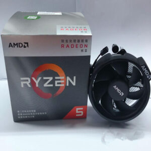 AMD Ryzen 5 3400G R5 3400G 3.7GHz Quad-Core Eight-Wire 65W CPU YD3400C5M4MFH Socket AM4 with Original Fan