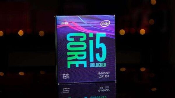 Intel Core i5-9600KF i5 9600KF 3.7 GHz Six-Core Six-Thread CPU Processor 9M 95W LGA 1151 new and sealed but without cooler