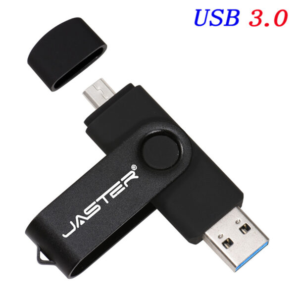 JASTER High Speed USB3.0 Flash Drive OTG Pen Drive 128gb 64gb Usb Stick 32gb 256gb Pendrive Flash Disk for Android SmartPhone/PC