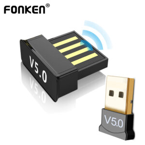 IsMyStore: FONKEN 2in1 USB Bluetooth 5.0 Adapter PC Accessories Tablet Car Audio Music Receiver TV USB Dongle Bluetooth Earphone Adapter