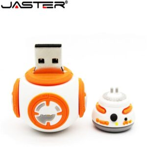 JASTER Star wars bb-8 usb flash drive 64GB 32gb Pendrive 16gb Pen drive 8gb Cartoon USB creative Flash card Memory stick drive