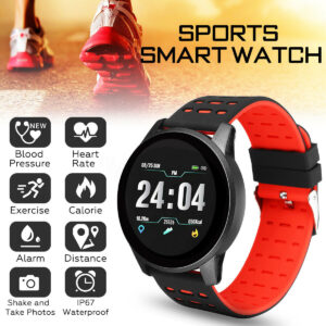 Sport Digital Watches Mens Activity Tracker Calorie Pedometer Distance Calculation Support Bluetooth Call Reminder Message Push