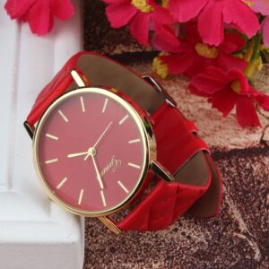 Geneva Watch Fashion Women Dress Watches Casual Ladies Watches Quartz Wristwatches Womens Watches Zegarek Damski dames horloges