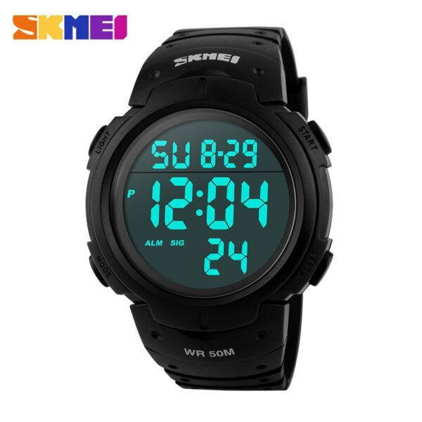 2019 New Sports Watches Men Shock Resist Army Military Watch LED Digital Watch Relojes Men Wristwatches Relogio Masculino Skmei