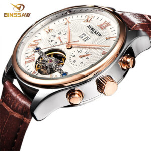 BINSSAW 2019 Watches Men Luxury Top Brand New Fashion Men's Big  Designer Automatic Mechanical Male Wristwatch Relogio Masculino