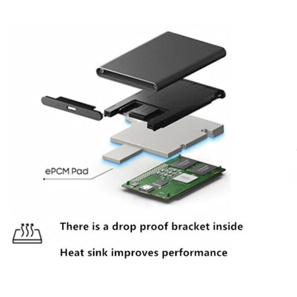 SSD Mobile Solid State Drive 2TB 1T 500G