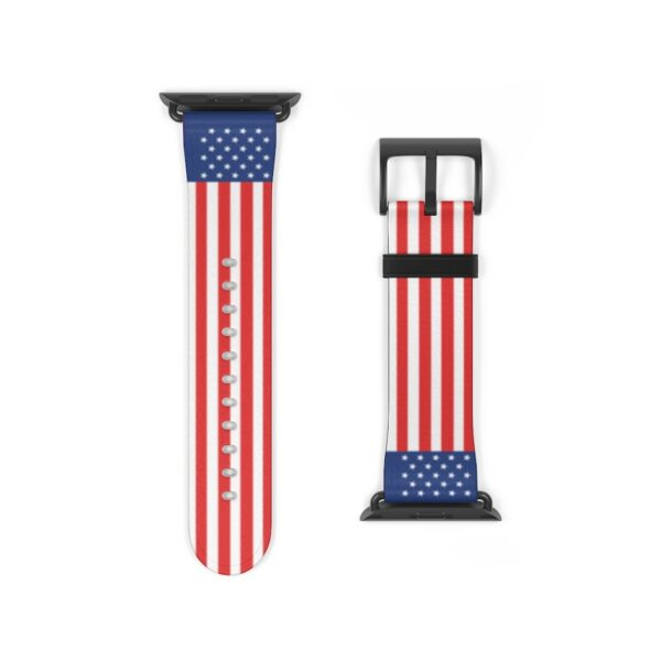USA Flag iWatch Band For Apple Watch Series 1, 2, 3, 4 and 5 devices