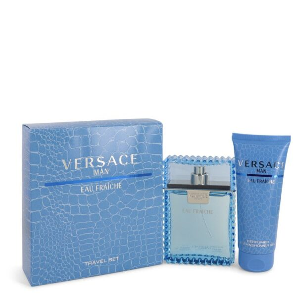 Versace Man by Versace Gift Set - for Men
